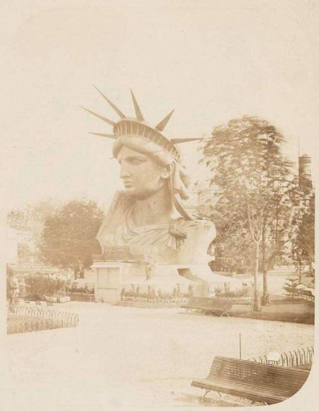 11 редких кадров со строительства статуи Свободы