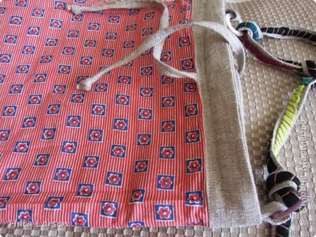 Мастер-класс Поделка изделие Вышивка Вышивание б\у футболками Бисер Канва Нитки Ткань фото 27
