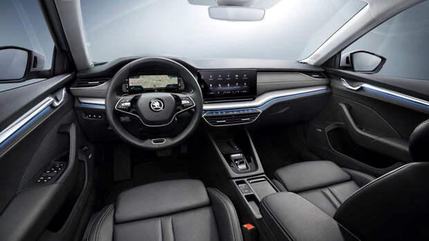 Новая Skoda Octavia теперь доступна с базовым и топовым моторами. Цены на популярный лифтбек серьёзно выросли