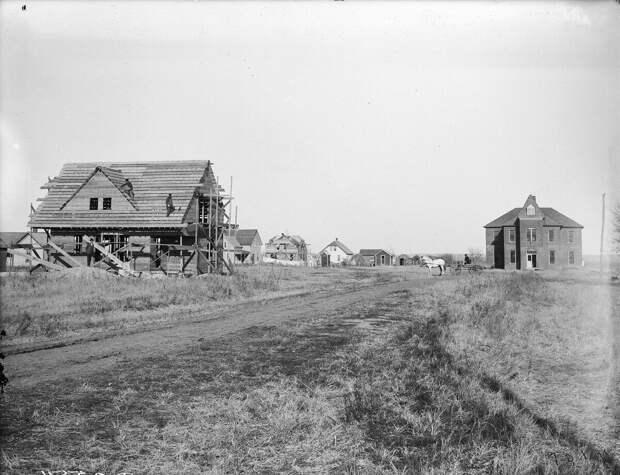 Как поднималась американская целина. Архивные фотографии пионеров Великих равнин конца 19-го века 18