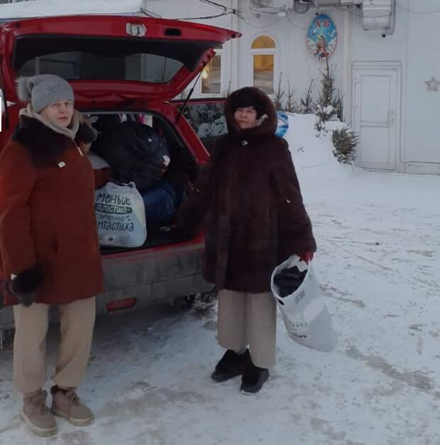 Добровольцы из Куркина собрали гуманитарную помощь для бездомных