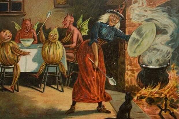 Ночь Самайна. Древнеирландский праздник давший начало Хеллоуину.