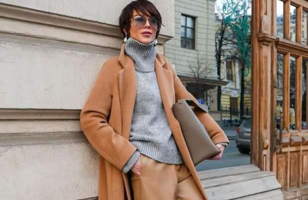 Брюки из кожи – главный тренд этой осени: Как и с чем носить