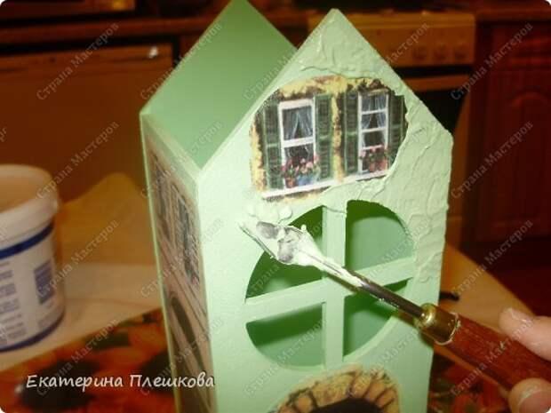Декор предметов Мастер-класс 8 марта День рождения Декупаж МК Чайного домика Бумага Дерево Крупа фото 19