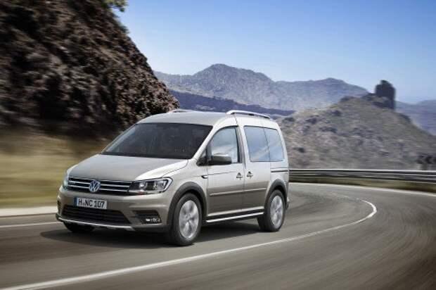 2016 Volkswagen Caddy Alltrack