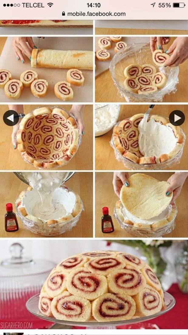 Необычный десерт