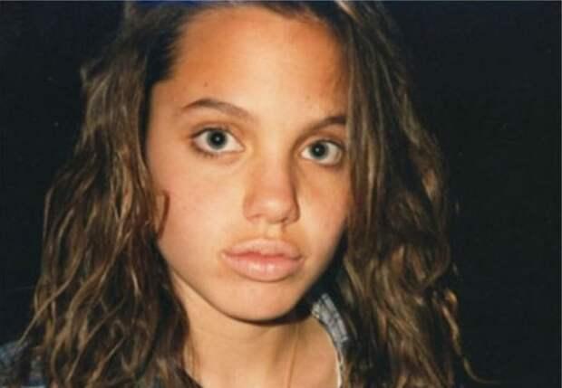 Анджелина Джоли (фотография 1991 года)