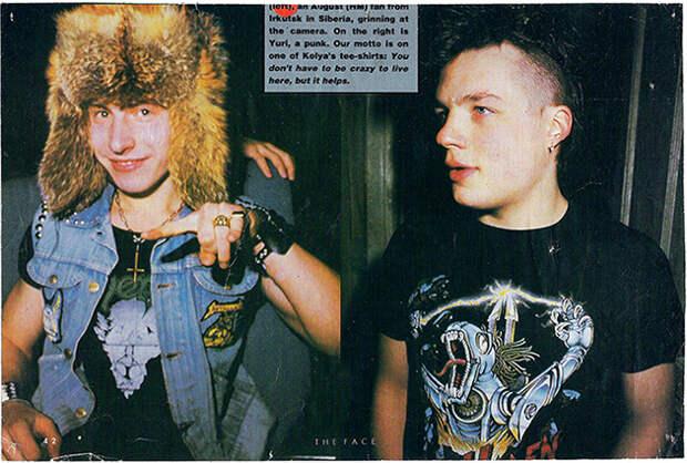 Заметка о металлистах в журнале «The Face», 1988 год.jpg