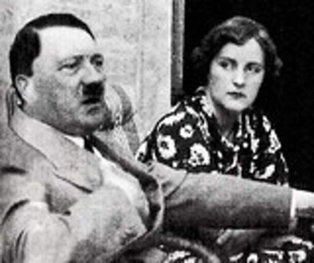 Фотография Адольфа Гитлера и Евы Браун