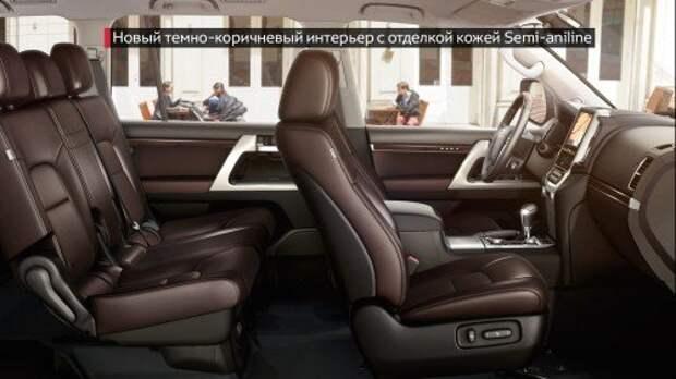 Toyota начала принимать заказы на обновленный Land Cruiser 200