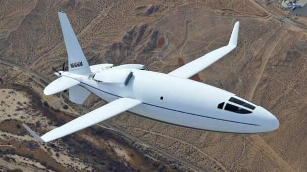 В США представили один из самых необычных самолетов современности (ФОТО)