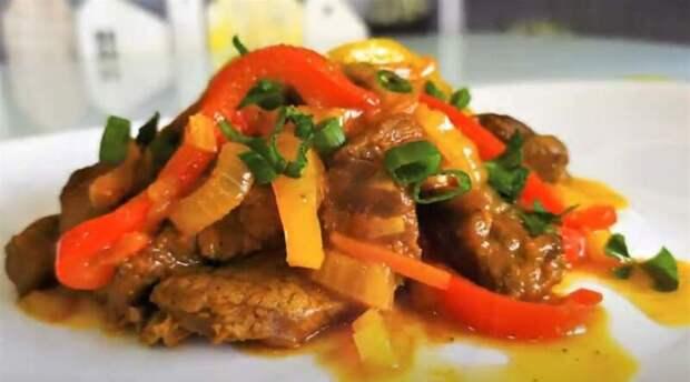 Говядина на сковороде. Как сделать говядину мягкой и сочной