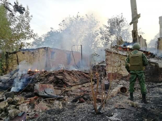 Посёлок Зайцево на Донбассе бомбят каждый день, но никто про это не знает