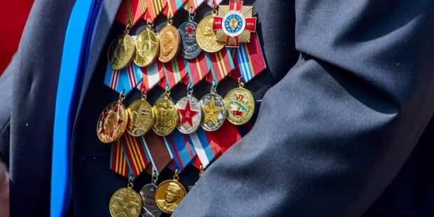 Собянин: Матпомощь к годовщине Битвы под Москвой получат 4 тыс ветеранов. Фото: М. Денисов mos.ru