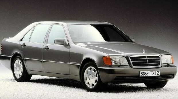 11 слабых мест Mercedes W140