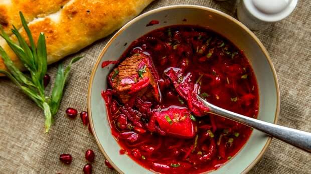 Сервис Google внес борщ в список российских блюд