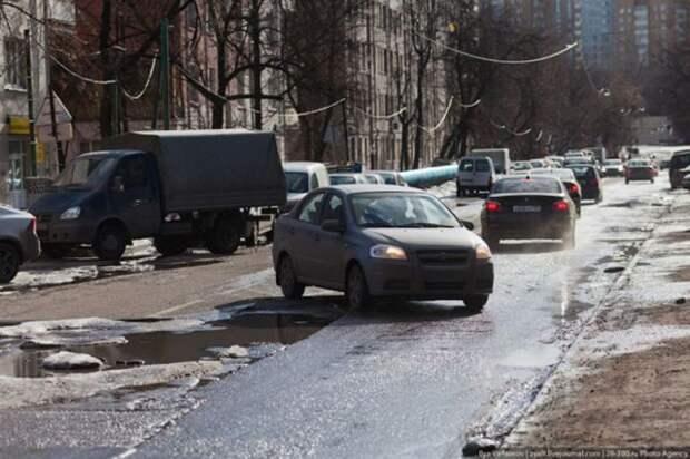 Весенние дороги России (18 фотографий), photo:5