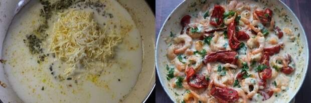 Креветки по-тоскански