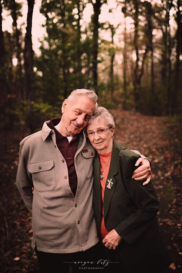 За 68 лет брака у них появилось двое детей, шестеро внуков и 4 правнука. Фото: Maegan Lutz.