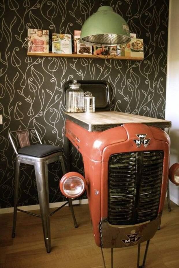 Трактор на вашей кухне