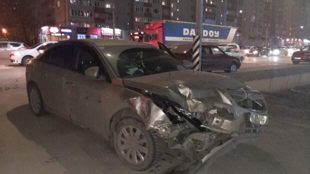 В ДТП в Рязани пострадали двое взрослых и двое детей