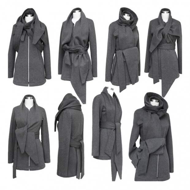 Пальто - трансформер