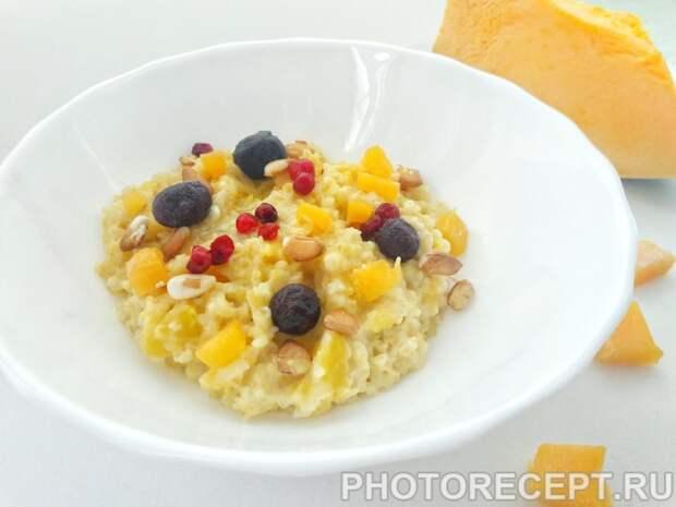 Фото рецепта - Пшеничная каша с тыквой - шаг 5