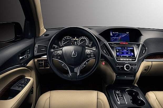 Кроссовер Acura MDX стал дороже после обновления