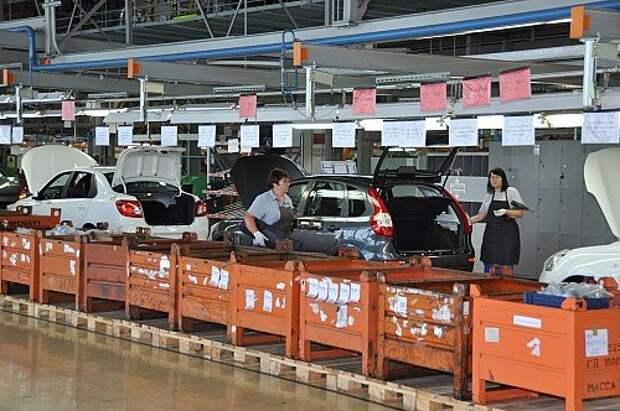 Datsun on-Do и mi-Do, а также Лады Гранта и Калина сходят с одного конвейера АВТОВАЗа