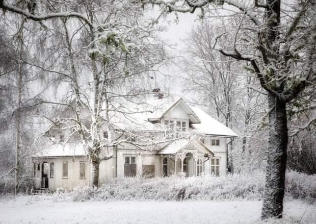 Красота заброшенных домов Норвегии