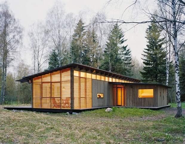 Назвать - это полноценным домом будет не очень правильно, но как гостевой или рабочий, он вполне подойдет