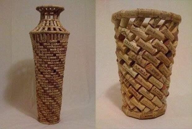 Пробковая ваза
