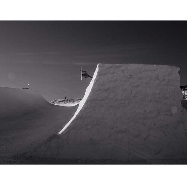 Восхищение сноубордингом от Gabe L'Heureux