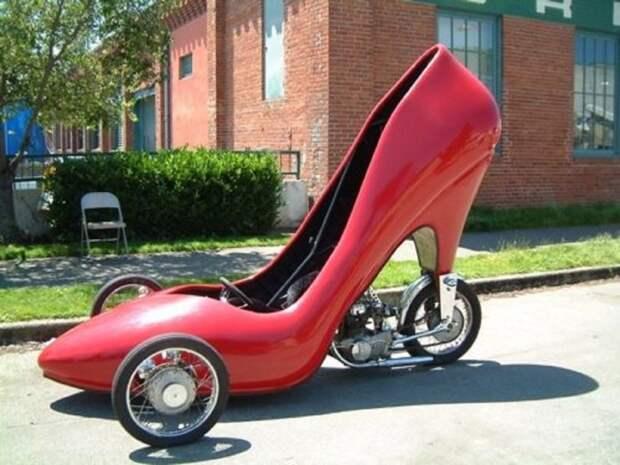 15. Туфелька на высоком каблуке автомобили, концепт-кары, странности