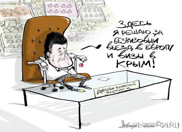 Порошенко: Путин должен был согласовать со мной поездку в Крым