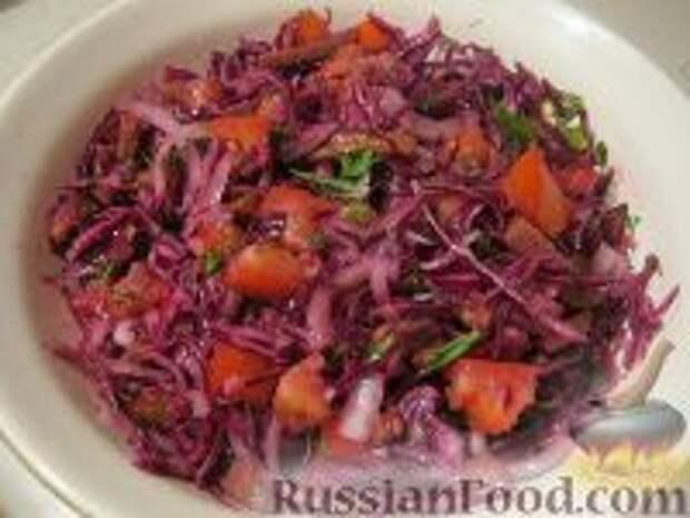 Фото приготовления рецепта: Салат «Чудо» - шаг №8