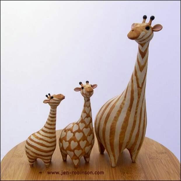 Jennifer Robinson. Забавная керамика