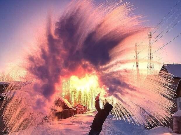 В Сибири снова запустили «Дубак челлендж»