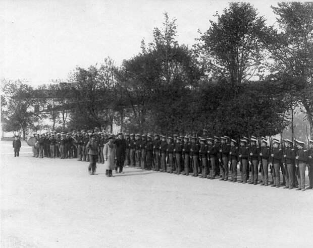 08. Военные занятия воспитанников