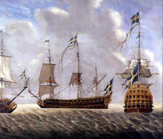 Линкоры шведского флота, 1700-е годы - Мы пойдём своим путём   Warspot.ru