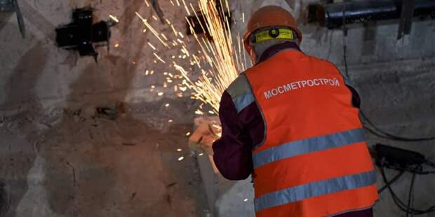 Собянин рассказал о ходе реконструкции станции метро «Каховская» . Фото: М.Денисов, mos.ru