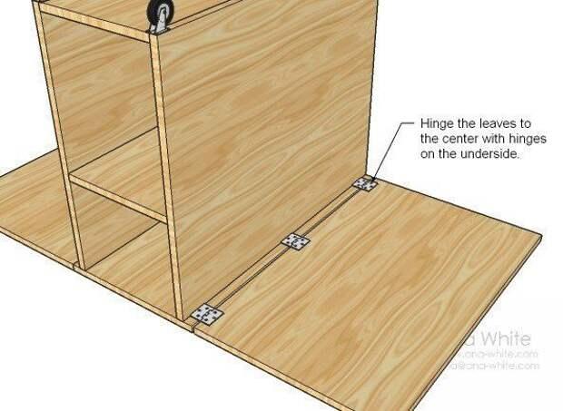 Как сделать стол для раскроя и шитья: рабочее место швеи 4