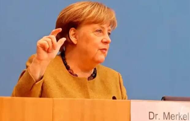 Меркель классически развела Украину