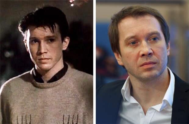 Российские актеры и ведущие 20 лет назад