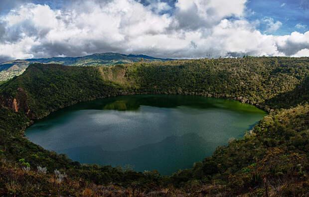 22. Гуатавита, Колумбия в мире, озеро, природа