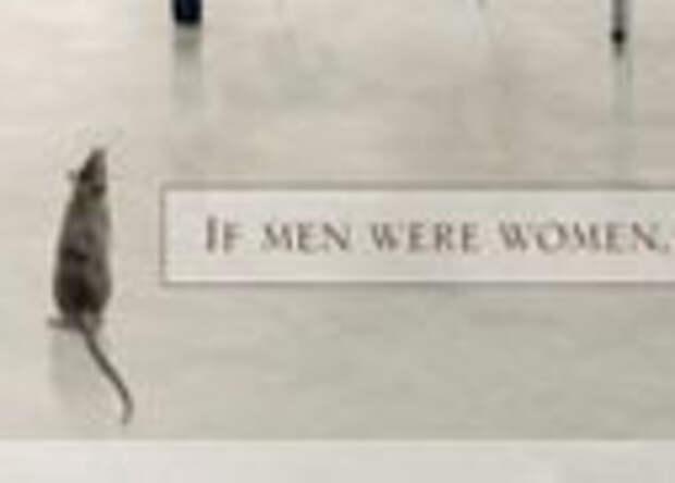 Страховая компания 1st for Women insurance: Если бы мужчины были женщинами…