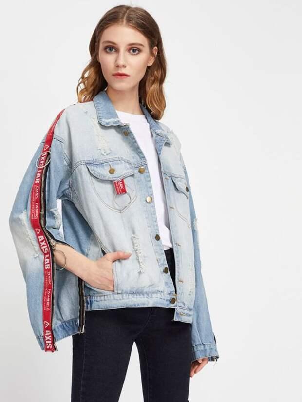 Необычные джинсовки