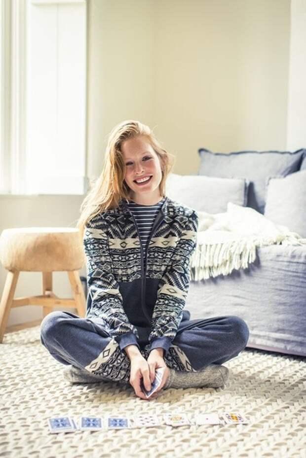 Выкройка комбинезона тёплой пижамы кигуруми из флиса или плюша