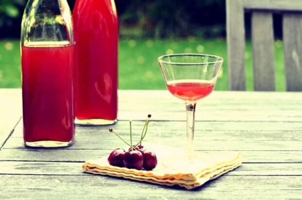 Дары полководца Лукуллы— рецепты черешневых ликеров