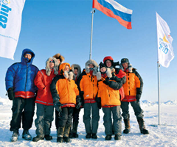 Креатив E-generator'а добрался до Северного полюса
